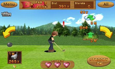 Sports games Cup! Cup! Golf 3D! for smartphone