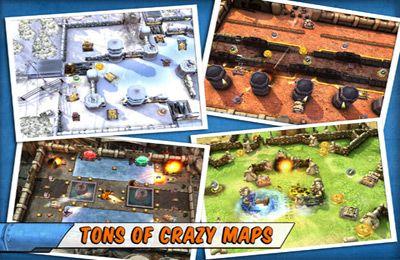Arcade-Spiele: Lade Panzerschlachten - explosiver Spaß! auf dein Handy herunter