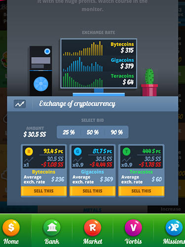 Business simulator 3: Clicker para Android