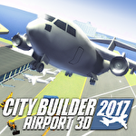 City builder 2017: Airport 3D Symbol