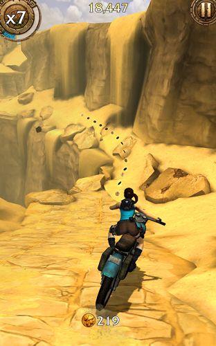 Arcade-Spiele: Lade Lara Croft: Reliquienlauf auf dein Handy herunter