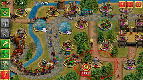 Strategy Defense of Roman Britain TD: Tower defense game for smartphone