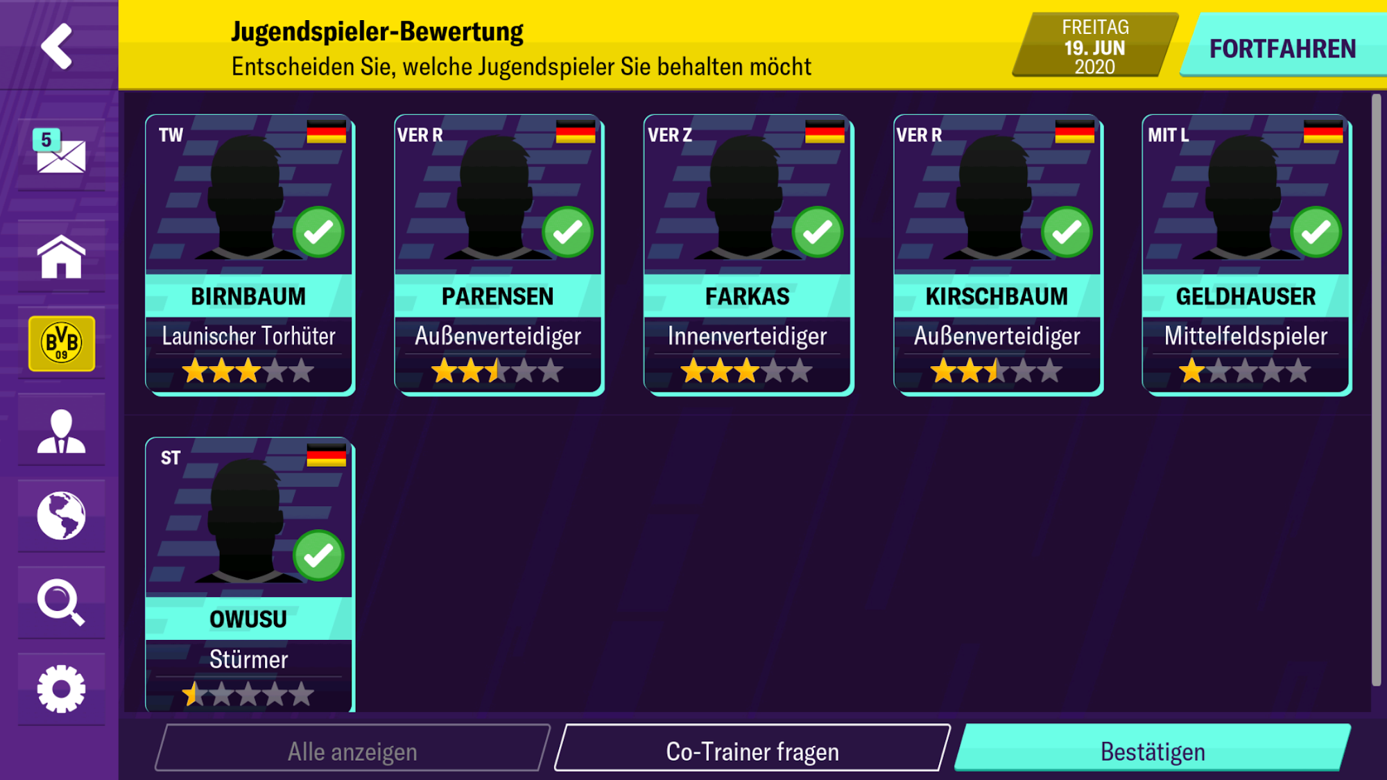 Football Manager 2020 Mobile für Android