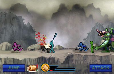战斗:下载愤怒的火柴人到您的手机