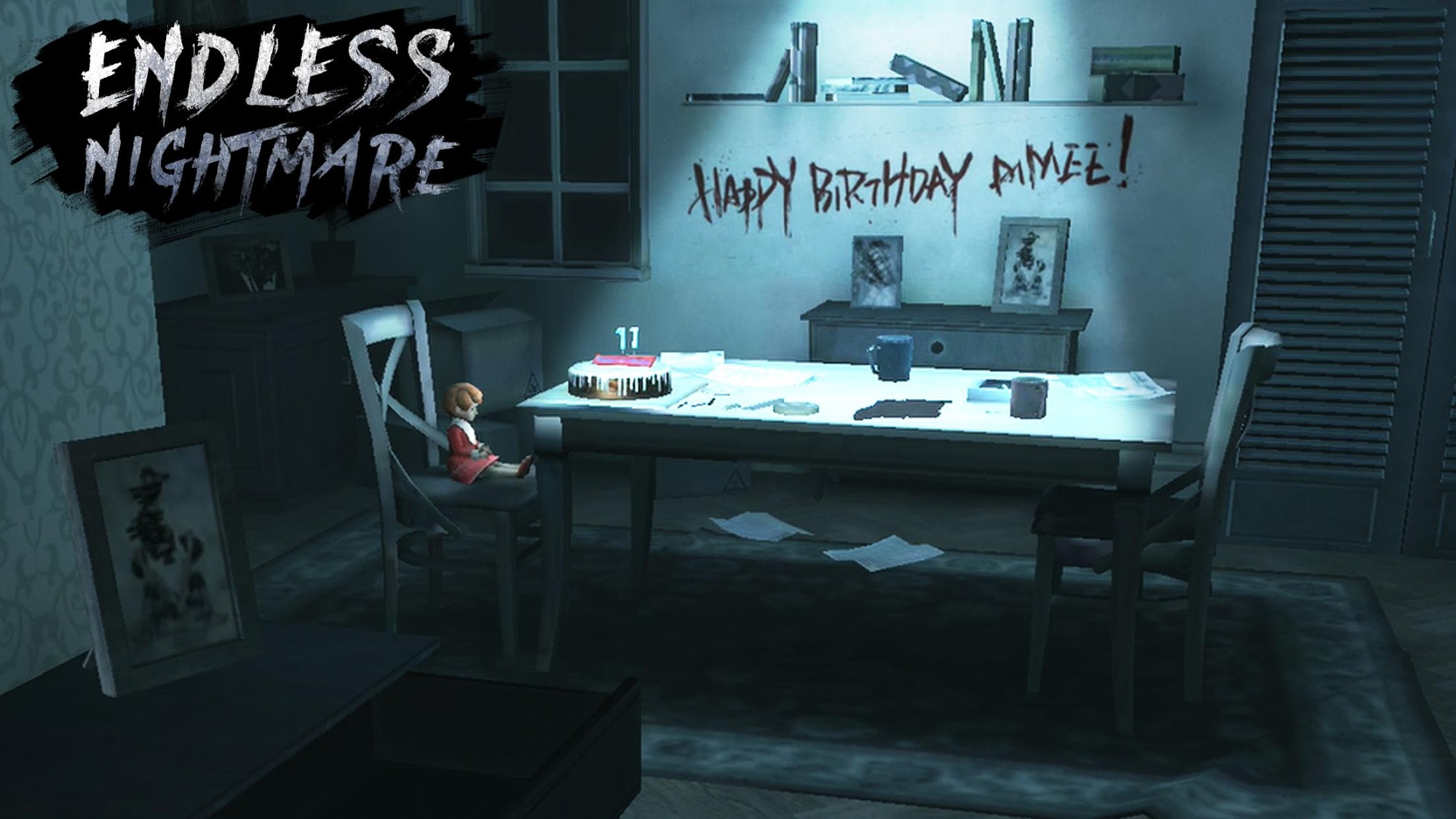 Endless Nightmare: 3D Creepy & Scary Horror Game para Android