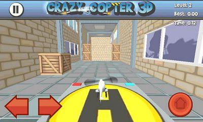 Arcade Paper Glider. Crazy Copter 3D für das Smartphone