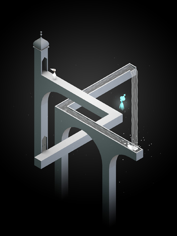 Arcade games: download Monument valley to your phone