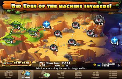 Captura de tela Defesa de Edem no iPhone