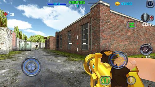 Gun shoot war Q für Android
