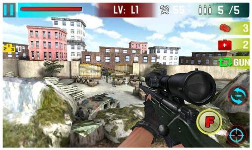 Arcade Sniper shoot war für das Smartphone