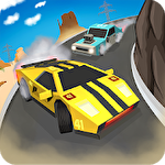 Skid chase fast: Racing rally Symbol