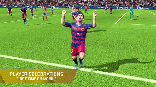 Спортивные игры FIFA 16: Ultimate team на русском языке