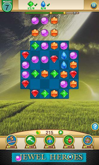 Jewel heroes: Match diamonds captura de tela 1
