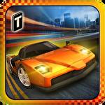 Racing in city 3D icône