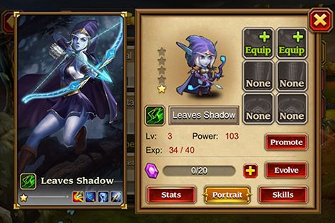 RPG Heroes charge für das Smartphone