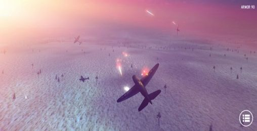 Simulation games Air strike 3D for smartphone