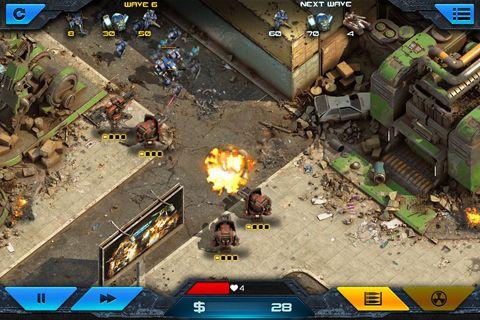 Screenshot Epischer Krieg: Turmabwehr 2 auf dem iPhone