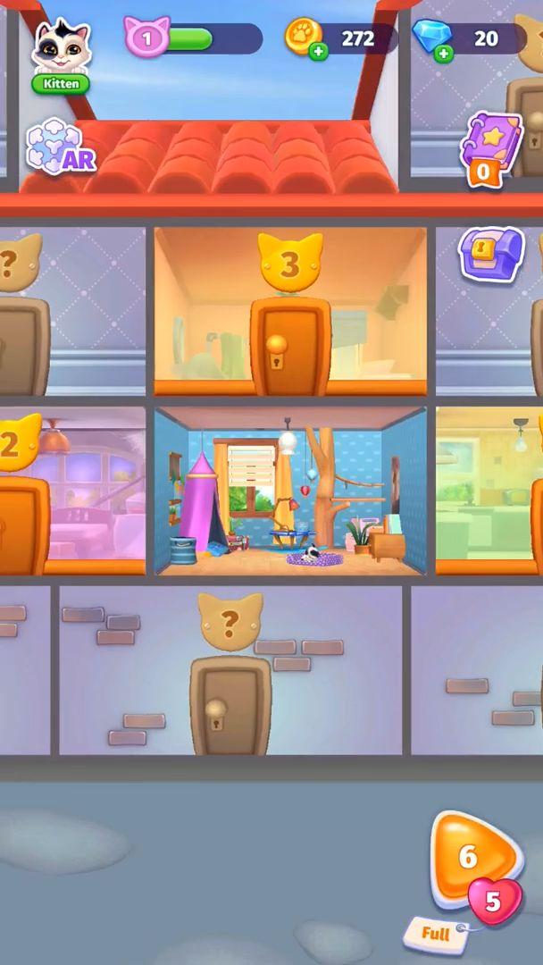 Catapolis: Grand Pet Game | Kitty simulator captura de pantalla 1