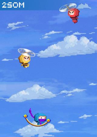 Прыг-скок ниндзя! для Айфон