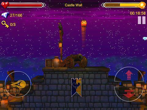 Arcade-Spiele: Lade Jack und dsa gruselige Schloss auf dein Handy herunter