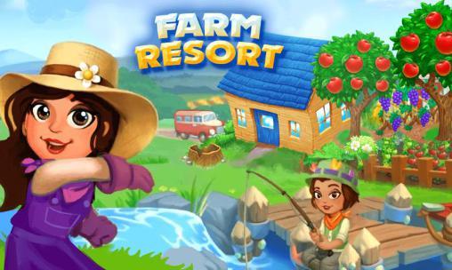 Farm resort icono