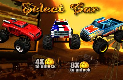 Racing games: download Monster Trucks Nitro to your phone