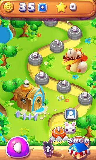 Arcade-Spiele Pop bird für das Smartphone