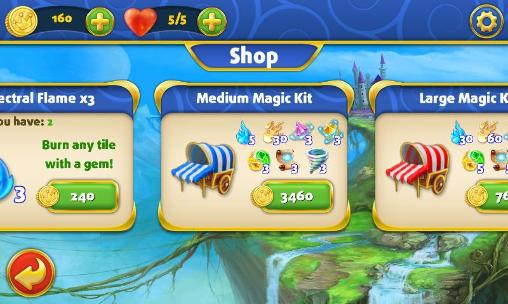 Miracle: In the world of fairy tales. Match 3 für Android