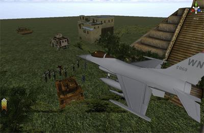 Screenshot Kampfflieger 3D auf dem iPhone