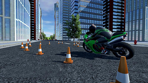 Moto extreme racing für Android