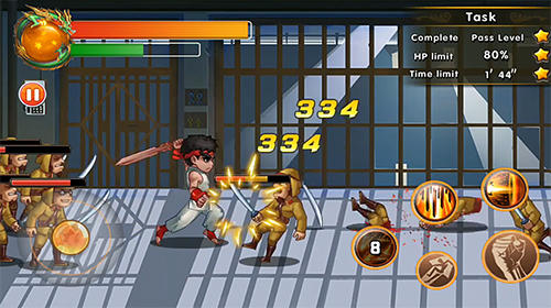 Chaos fighter: Kungfu fighting для Android