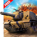 Heavy army war tank driving simulator: Battle 3D icon