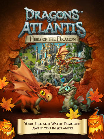 Les Dragons de l'Atlantide: les Héritiers du Dragon