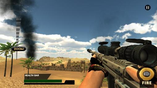Modern american snipers 3D para Android