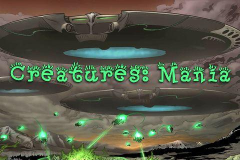 логотип Внеземные существа: Мания
