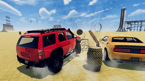 Car crash demolition derby simulator 2018 auf Deutsch
