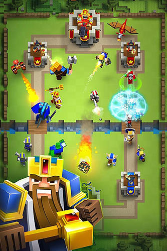Royale clans: Clash of wars для Android