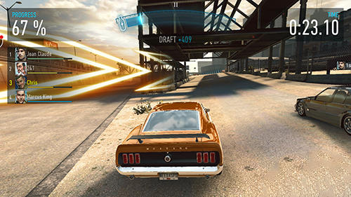 Rennspiele: spiel Need for speed edge mobile für Sony