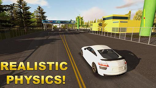 Just drive simulator screenshot 1