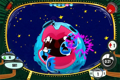 Arcade games: download Eggs in space to your phone