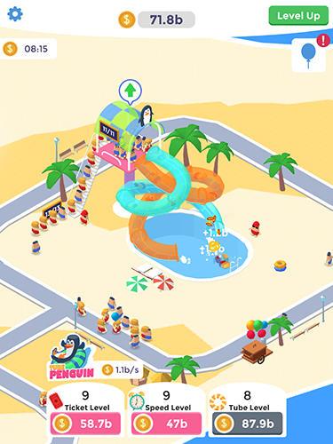 Arcade Idle aqua park for smartphone
