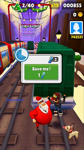 Subway surfers: World tour London на русском языке