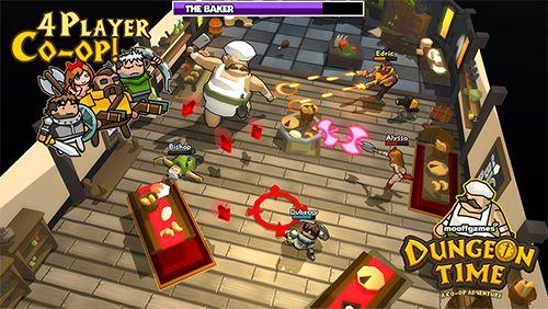 Arcade: Lade Dungeon Time auf dein Handy herunter