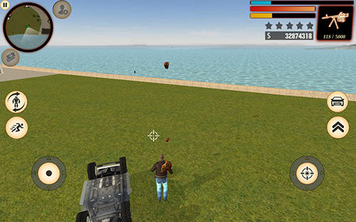 Actionspiele Stone giant für das Smartphone