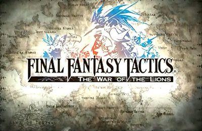 logo Final Fantasy Taktiks: Der Krieg der Löwen