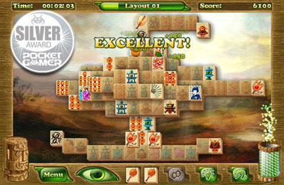 Screenshot Mahjong Artifacts: Chapter 2 on iPhone
