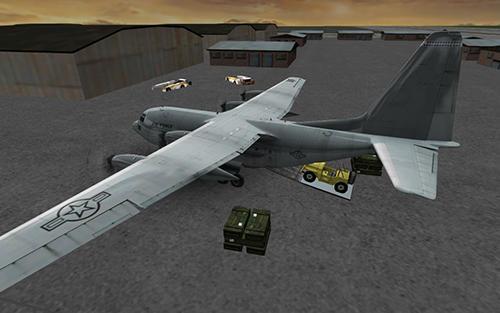Cargo airplane simulator 2017 auf Deutsch