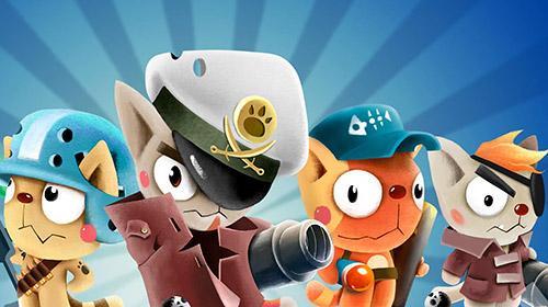 Cats vs pigs: Battle arena captura de pantalla 1