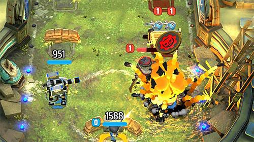 Online Strategiespiele Gears pop! auf Deutsch