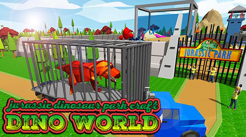 Jurassic dinosaur park craft: Dino world Screenshot